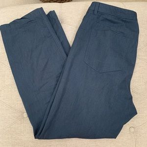 ✅ Men's CK Calvin Klein Blue Bottoms Pants 36x32